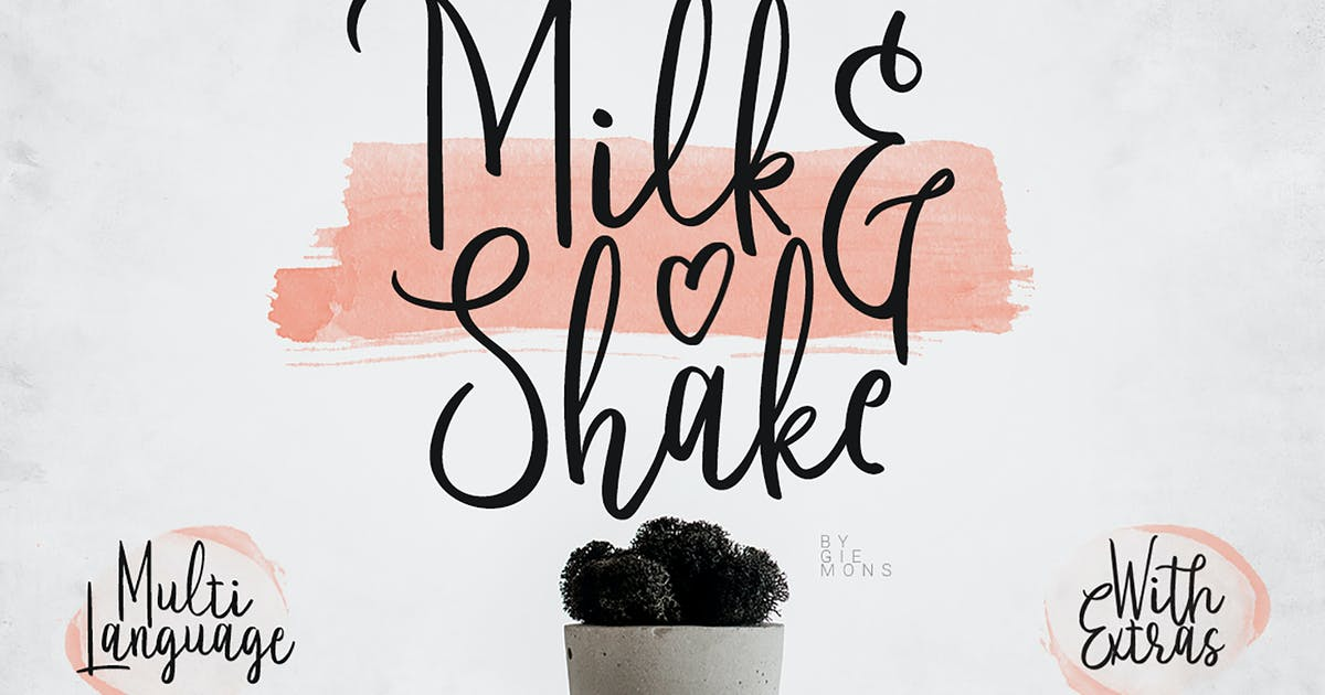 Milk And Shake by giemons on Envato Elements