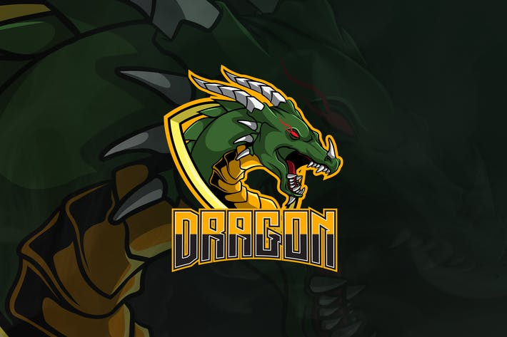 Cover Image For Dragon - Mascot & Esport Logo