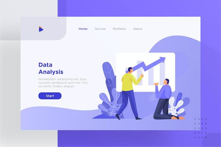 Thumbnail for Data analysis illustration for website