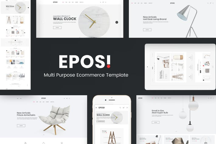 Cover Image For Eposi - Responsive Prestashop Thème