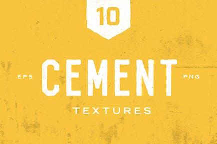 Zementkörnung Texturen