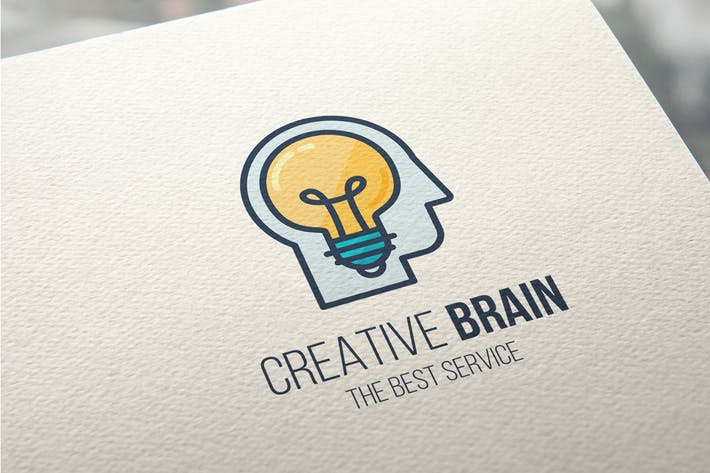 Thumbnail for Creative Brain Logo Template