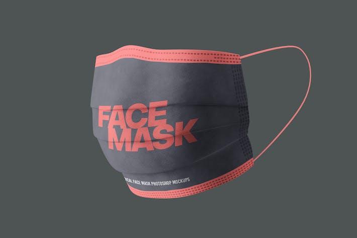 Thumbnail for Medical Face Mask Mockups