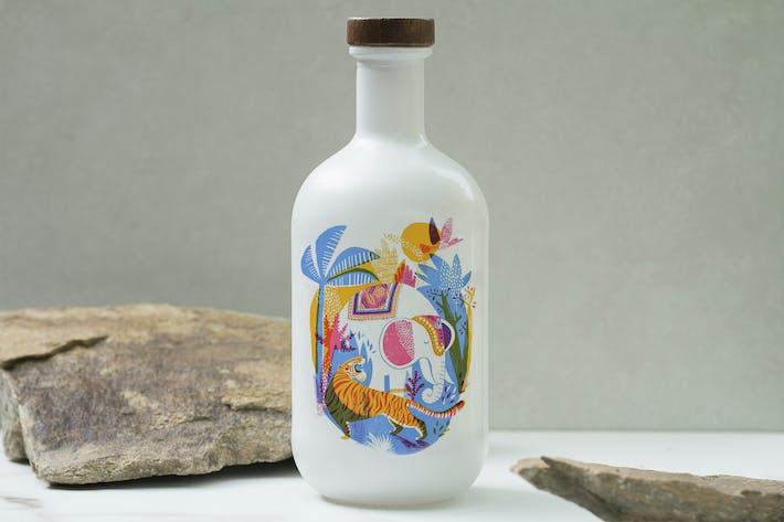 Thumbnail for Multipurpose Porcelain Bottle Mockup