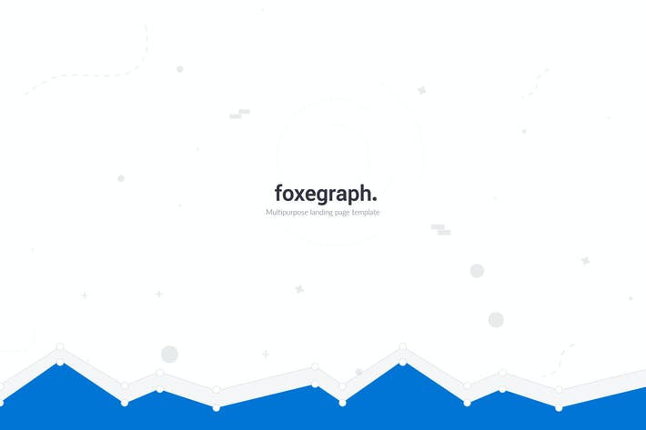 Thumbnail for Foxegraph - Multipurpose Landing Page Template