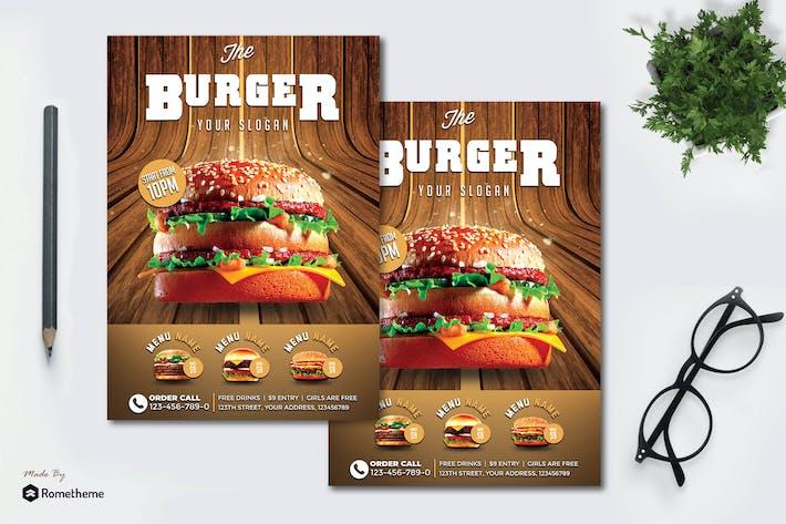 Thumbnail for Burger - Flyer MR