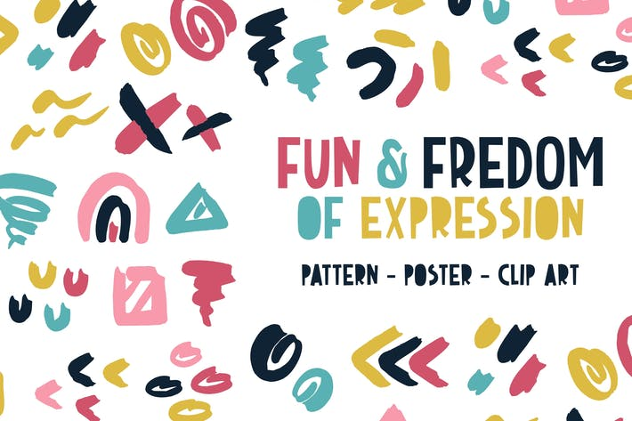 Fun & Freedom of Expression Pattern