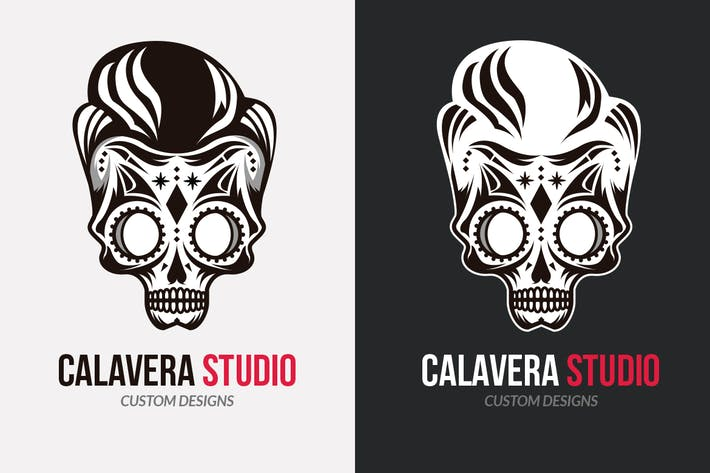 Thumbnail for Calavera Studio Logo Template