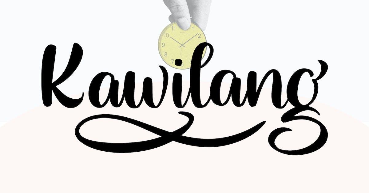 Download Kawilang   Handwriting Brush Font by Vunira