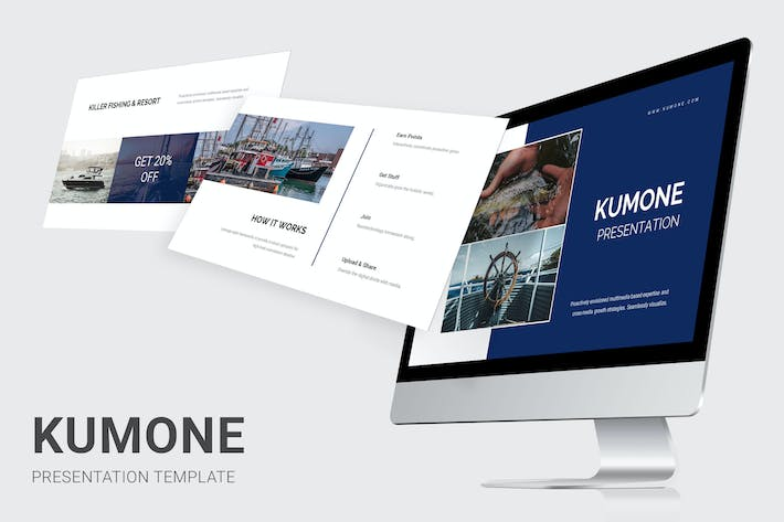 Thumbnail for Kumone - Fishing Club Powerpoint