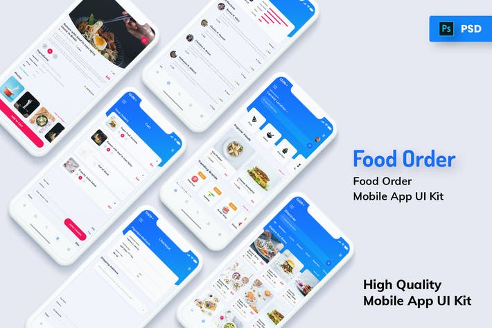 Thumbnail for Food Order Mobile App Light Version