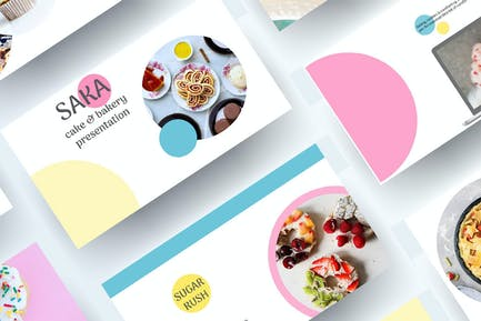 Saka - Cake & Bakery PowerPoint Presentation
