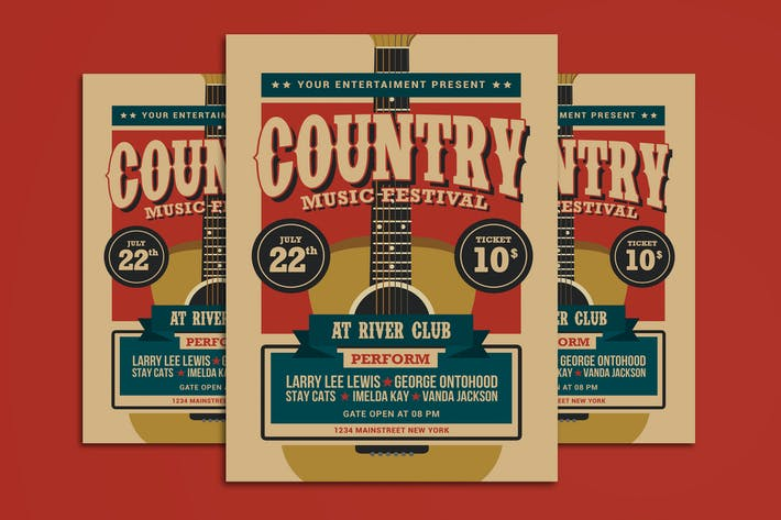 Cover Image For Country Music Festival