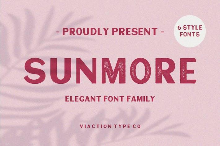 Thumbnail for Sunmore Elegant Font