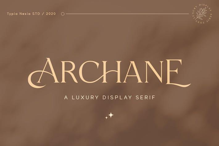 Archane - Pantalla Femenina Con serifa