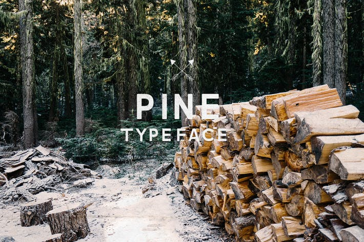 Cover Image For Pine Font