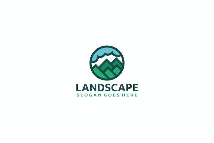 Thumbnail for Nature Landscape Logo