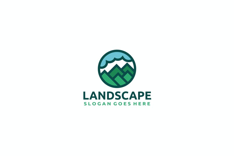 Nature Landscape Logo