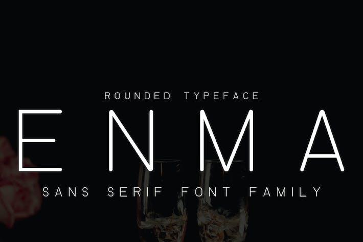 Thumbnail for ENMA - Police arrondie