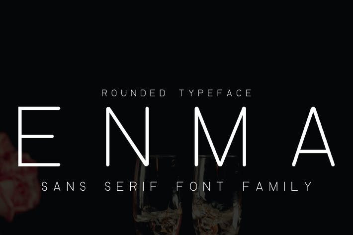 Thumbnail for ENMA - Fuente redondeada