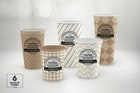 Paper Cold Drink Cups Packaging Mockup