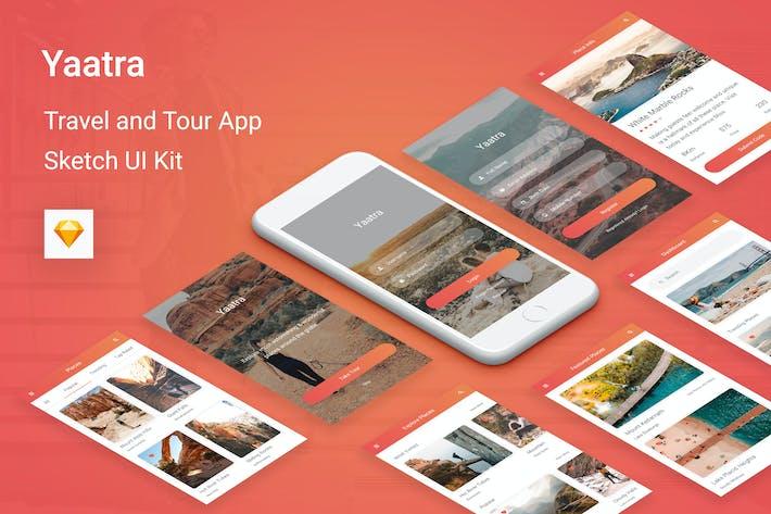 Thumbnail for Yaatra - Travel & Tour UI Kit for Sketch