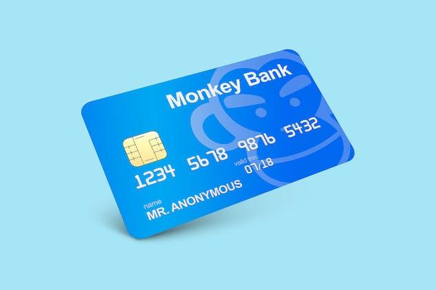 Credit & Debit Card Mockup