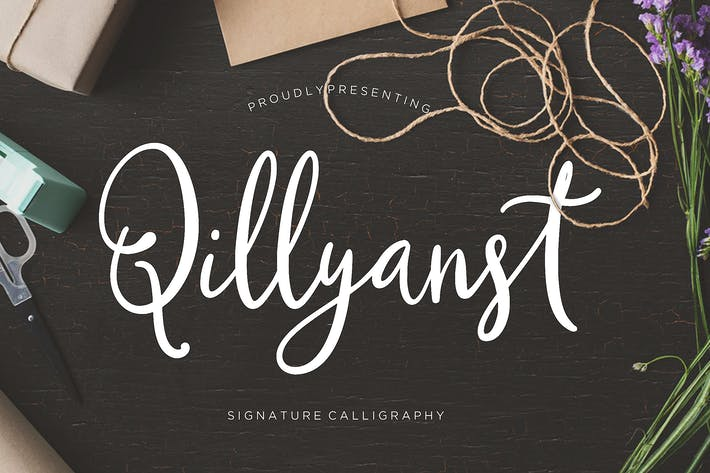 Thumbnail for Caligrafía Signature Qillyanst