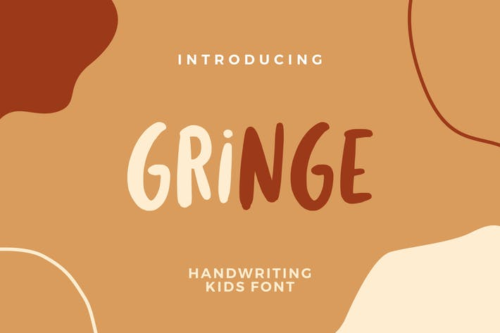 Thumbnail for Gringe Handwriting Font