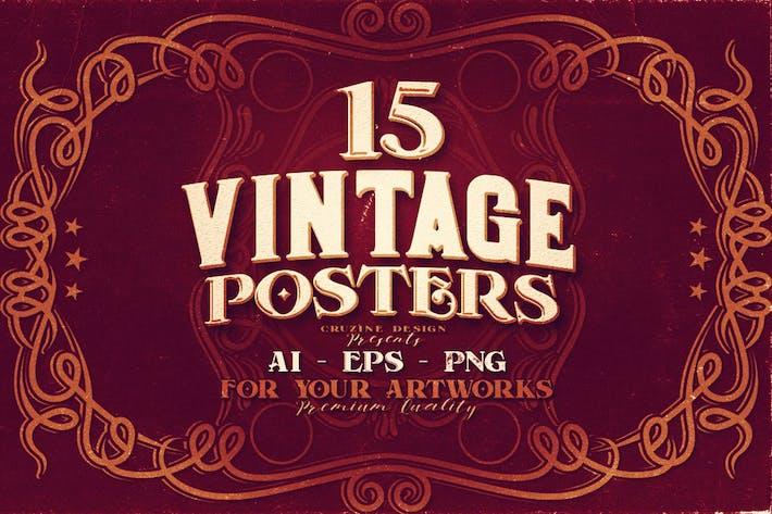 15 Vintage Posters