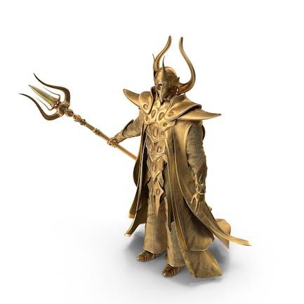 Goldener Zauberer