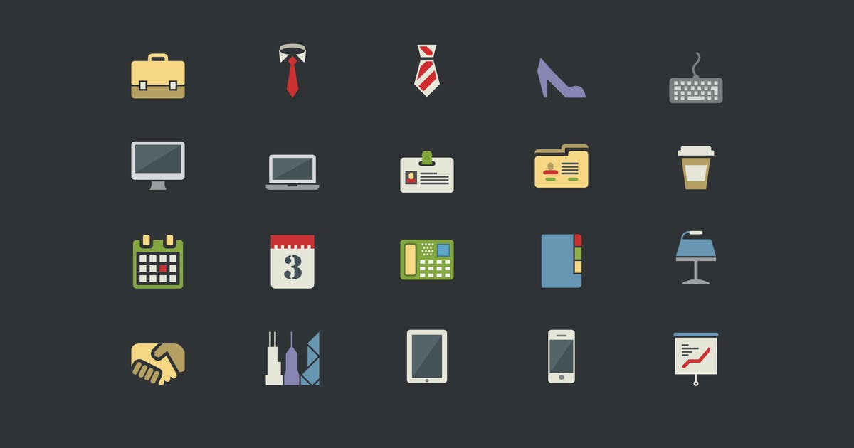Download Office Color Icons by Unknow