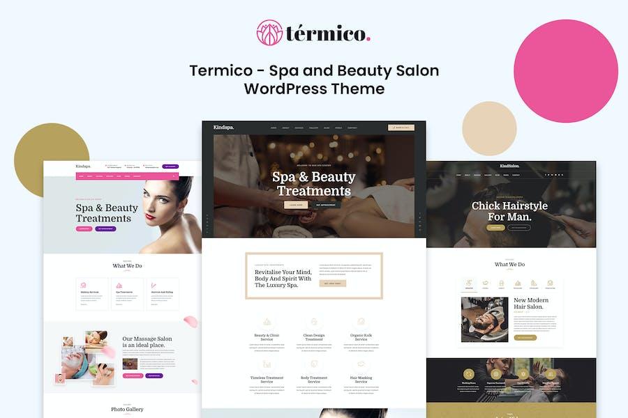 Termico - Spa and Beauty Salon WordPress Theme