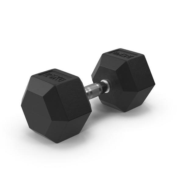 Thumbnail for Rubber Dumbell 25kg