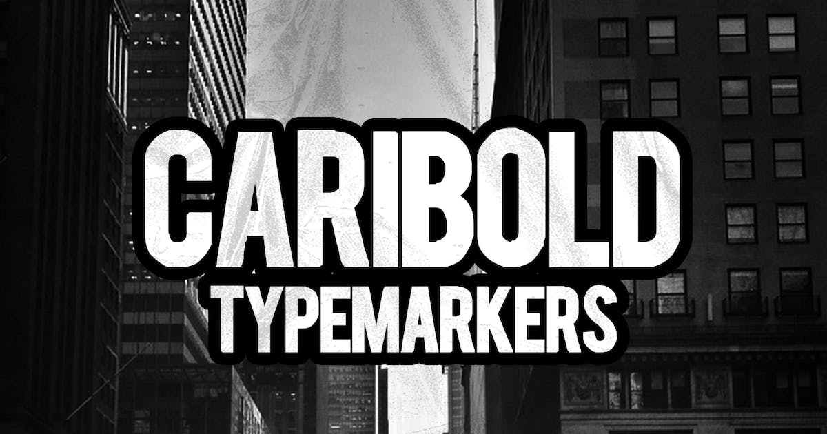 Download CARIBOLD Font by Byulyayika