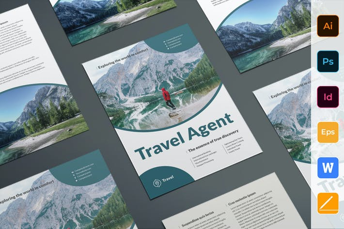 Thumbnail for Travel Agent Agency Flyer