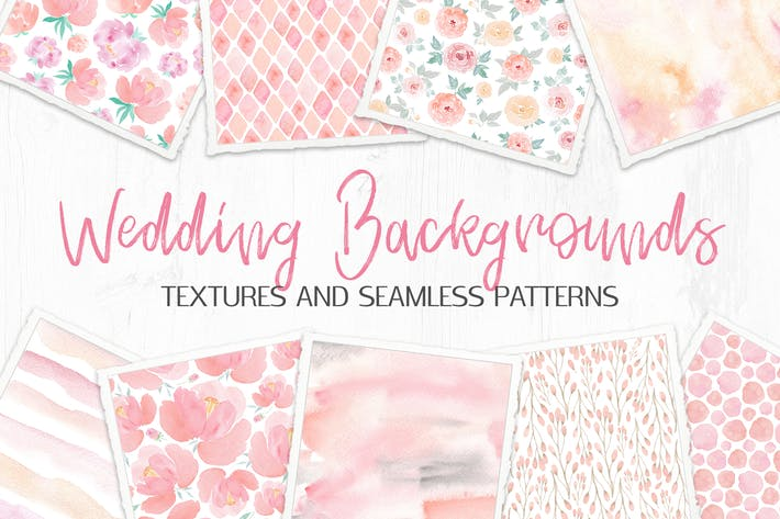 Thumbnail for Wedding Backgrounds: Textures and Patterns