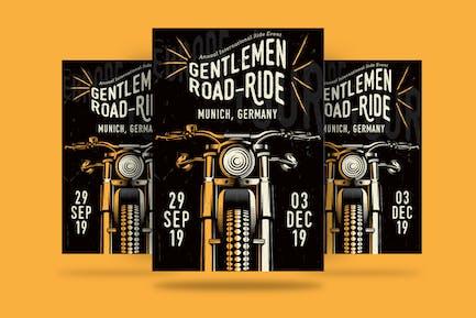Gentlemen's Ride Flyer