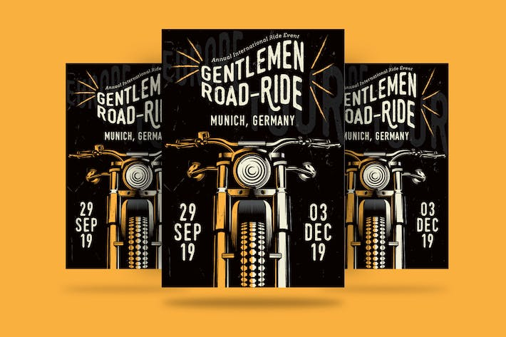 Gentlemen's Ride Flyer