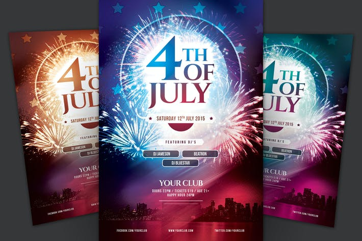 Cover Image For 4th of July flyer