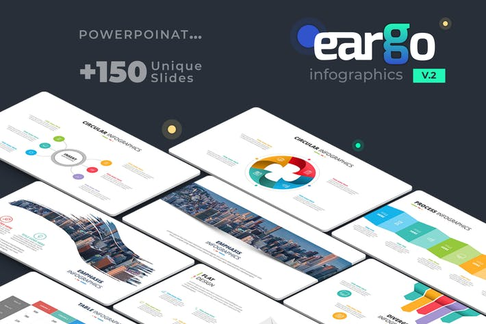 Thumbnail for Eargo 2 - Infographics PowerPoint Template