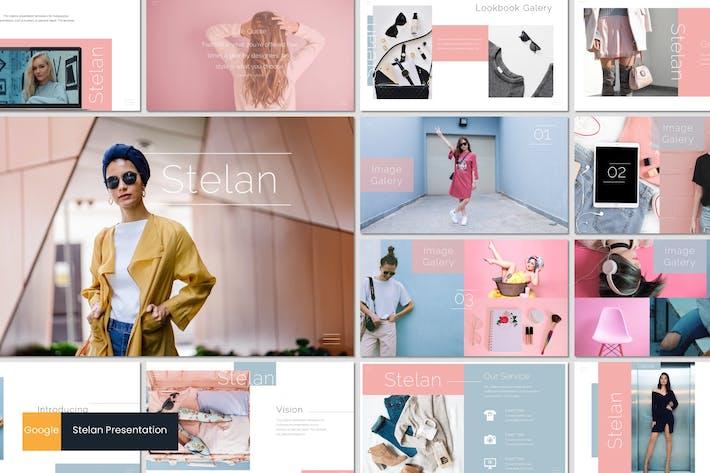 Thumbnail for Stelan - Google Slides Template
