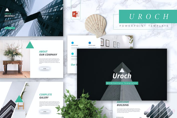 Thumbnail for UROCH - Architecture Powerpoint Template