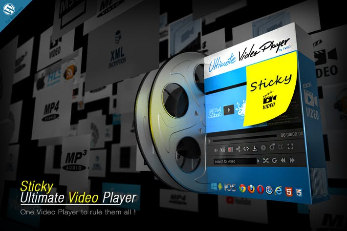 Thumbnail for Sticky Ultimate Video Player Wordpress Plugin