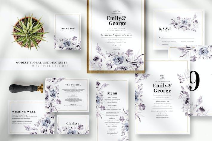 Thumbnail for Suite Mariage Floral Modest EZ
