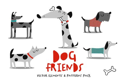 Dogs Friends Pack