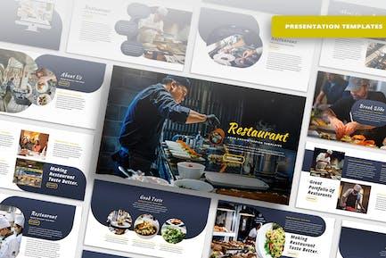 Ресторан - Шаблон PowerPoint