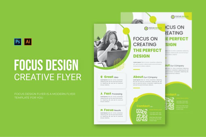 Focus Design - Flyer