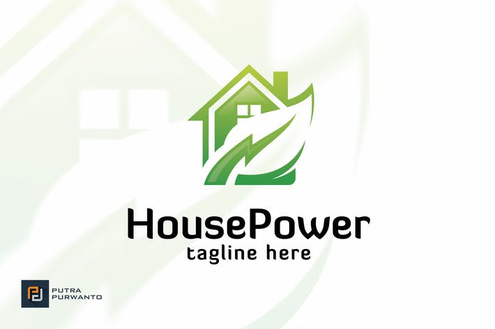 Thumbnail for House Power - Logo Template