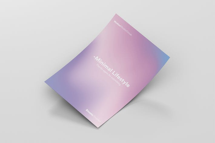 Thumbnail for Minimal Gradient Poster Template
